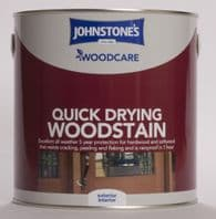 Johnstone's Woodcare Quick Drying Woodstain 2.5L - Mahogany